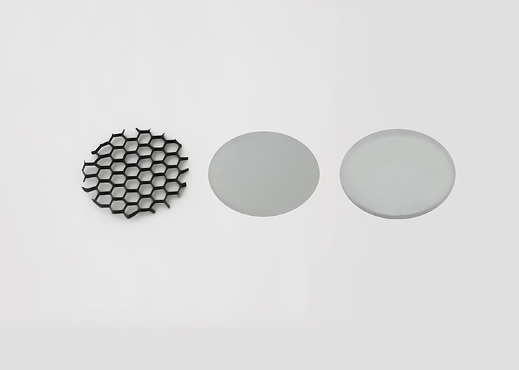 M-Flux Accessories: Honeycomb / Films /  Glass